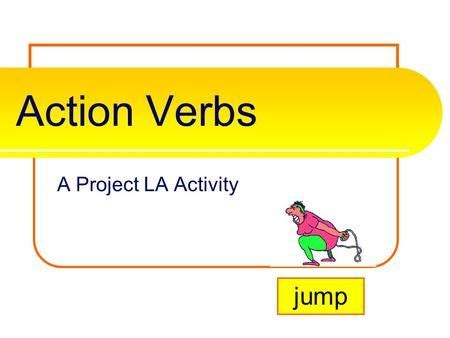 List of strong action verbs for resume